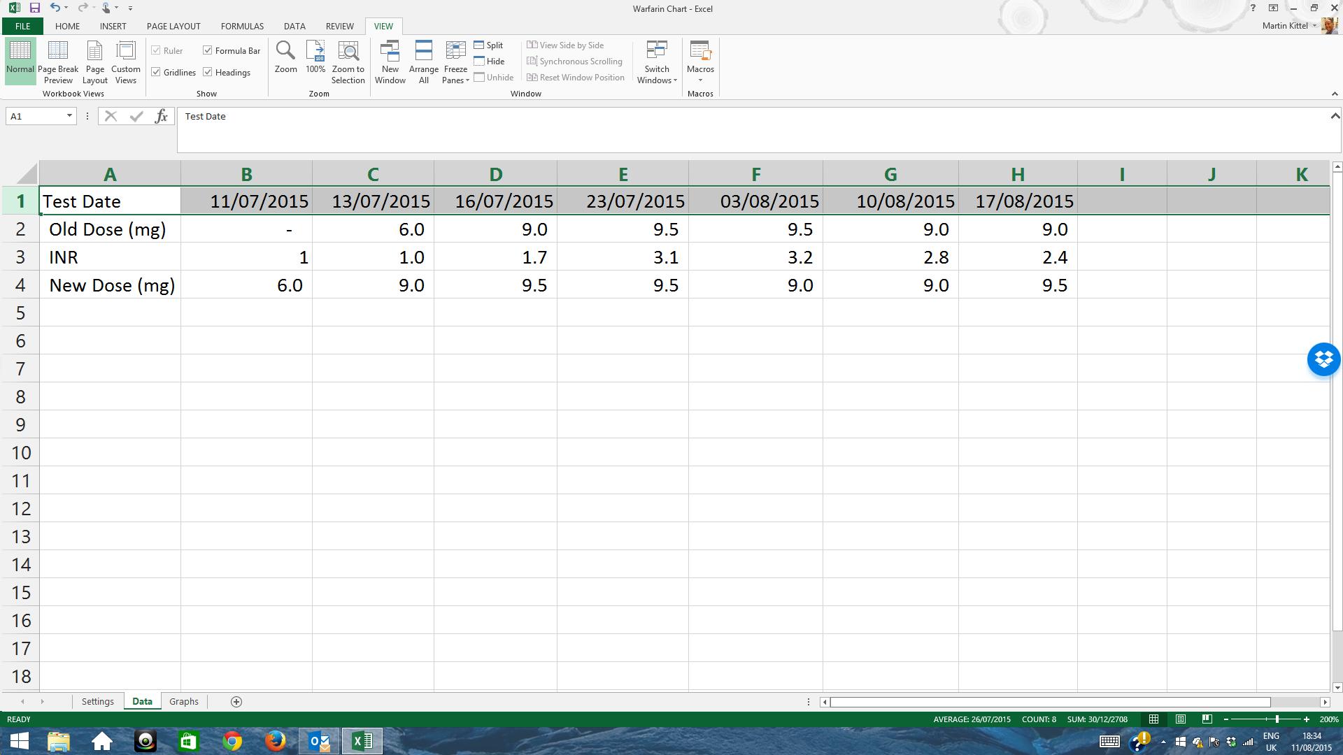 how to break horizontal axis in excel